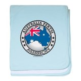 Australia Perth LDS Mission Flag Cutout Map 1 baby