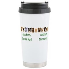 Cute Pembroke welsh corgi Travel Mug