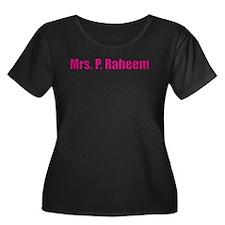 Mrs. Pretty Raheem Plus Size T-Shirt