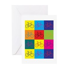 Unique Bicycles Greeting Card