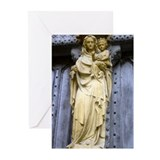 Madonna &amp; Christ Child Blank Cards (Pk of 10)