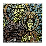 St. Anthony of Padua Tile Coaster