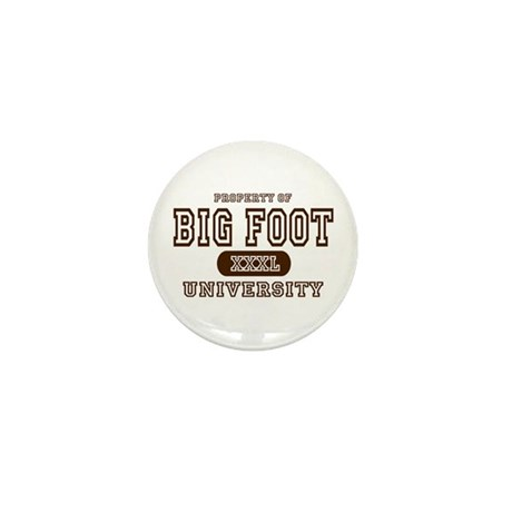 Big Foot University Mini Button (10 pack)