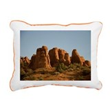 Sandstone fins Rectangular Canvas Pillow