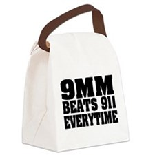 9MM Beats 911 Canvas Lunch Bag