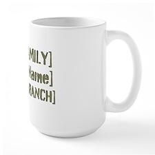 PERSONALIZED Military Family [vintage] Mug