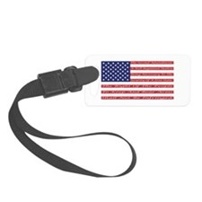 2nd Amendment Flag Luggage Tag