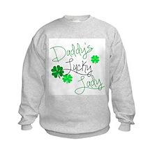 Daddys Lucky Lady Sweatshirt