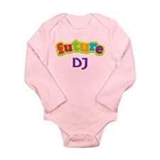 Future DJ Long Sleeve Infant Bodysuit