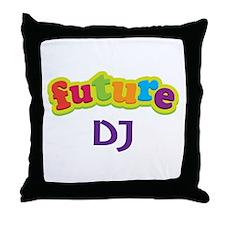 Future DJ Throw Pillow