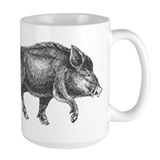 Wild Boar Mug