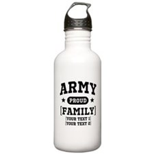 Army Sister/Brother/Cousin Water Bottle