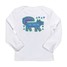 DOG MOLA DESIGN Long Sleeve T-Shirt