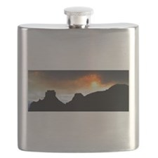 Fireball Sunset Flask