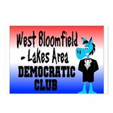 WB Dem Club Postcards (Package of 8)