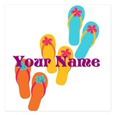 Personalized Flip Flops Invitations