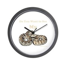 My Snake Wall Clock
