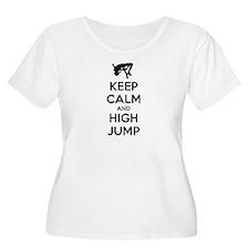 Keep calm and high jump T-Shirt