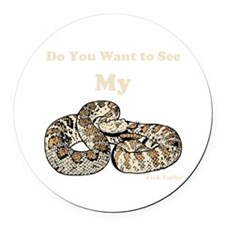 My Snake Round Car Magnet