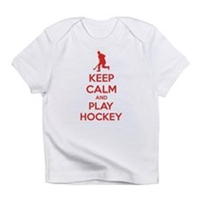 Keep calm and play hockey Infant T-Shirt