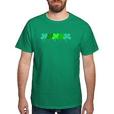 Irish Green 4 Leaf Clover St. Patricks Day T-Shirt