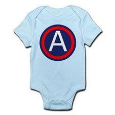 Third Army logo Infant Bodysuit