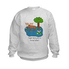 Moose Safari Sweatshirt