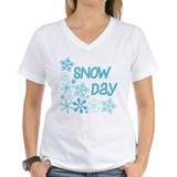 Snow Day Snowflake Corner T-Shirt