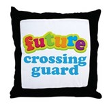 Future Crossing Guard Throw Pillow
