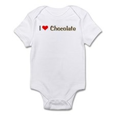 I (Heart) Love Chocolate Infant Bodysuit