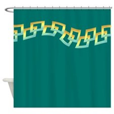 Teal Delight Shower Curtain