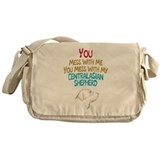 Cool Dog breed Messenger Bag