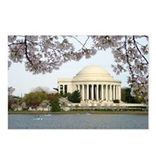 Thomas Jefferson Memorial Postcards (Package of 8)