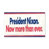 1972 Nixon Reelection Car Magnet