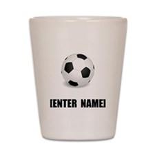 Soccer Personalize It! Shot Glass