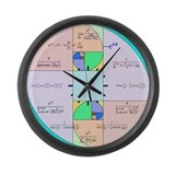 Golden Ratio Math Clock Large Wall Clock