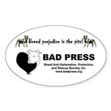 Pit Bull Breed Prejudice Decal