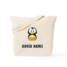 Penguin Personalize It! Tote Bag