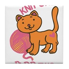 Purr Two Tile Coaster