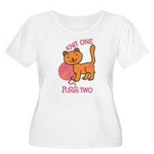 Purr Two Plus Size T-Shirt