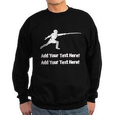 Personalize It - Fencing Sweatshirt