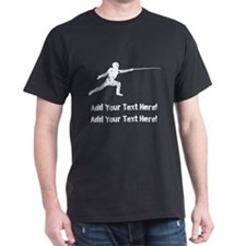 Personalize It - Fencing T-Shirt