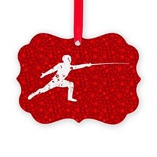 Fencing Ornament