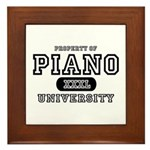 Piano University Framed Tile