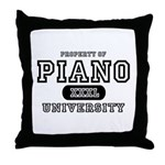 Piano University Throw Pillow