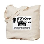 Piano University Tote Bag