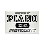 Piano University Rectangle Magnet (10 pack)