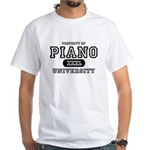 Piano University White T-Shirt