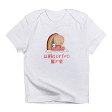 Cute Lesbian mom Infant T-Shirt