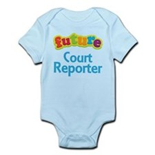 Future Court Reporter Infant Bodysuit